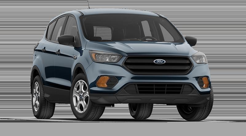 Blue Ford Escape