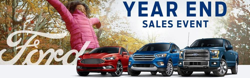 Ford Year End Sales Event At Laird Noller Lawrence