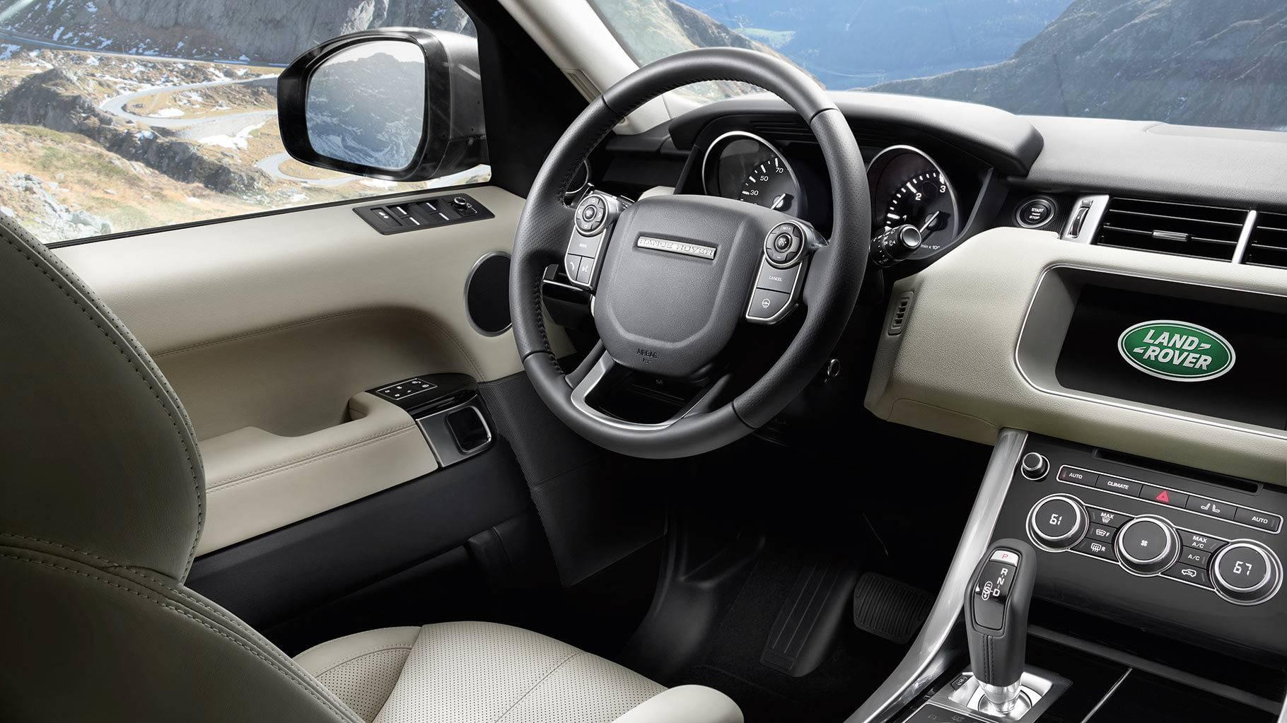 2017 Land Rover Range Rover Sport Front Interior