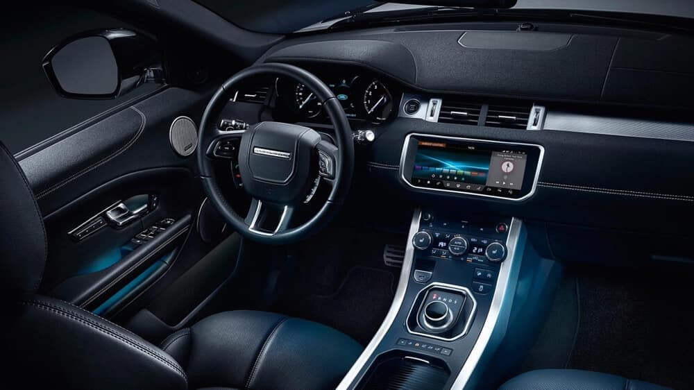2018 Land Rover Range Rover Evoque Interior 02