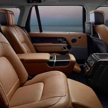 2018 Land Rover Range Rover Interior Rear Seating and Features