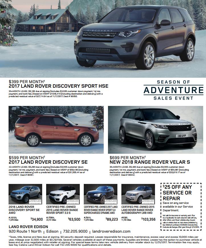 Land Rover Seasons Greetings