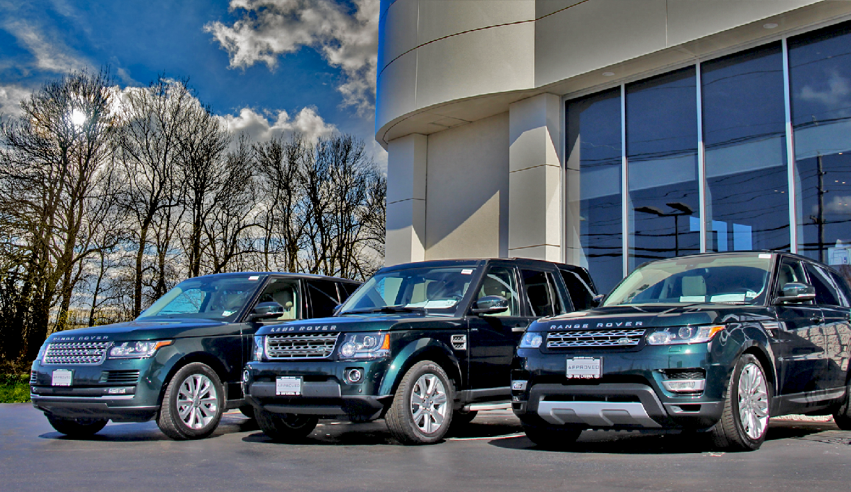 Ray Catena Jaguar >> The Aintree Green Collection at Ray Catena Land Rover Edison | Land Rover Edison