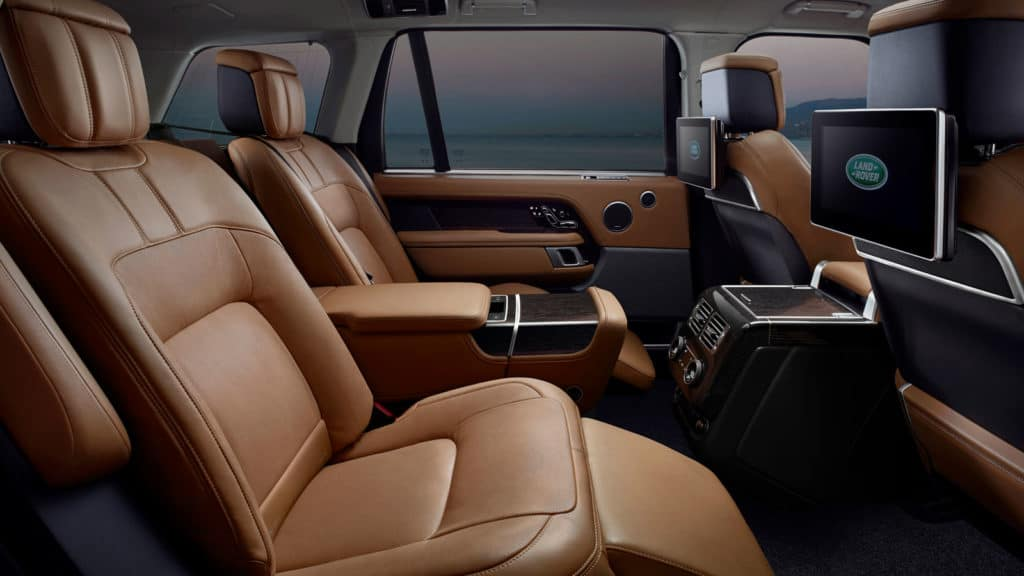 2019 Land Rover Range Rover interior seating