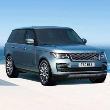 2019 Range Rover Exterior Parked at Beach
