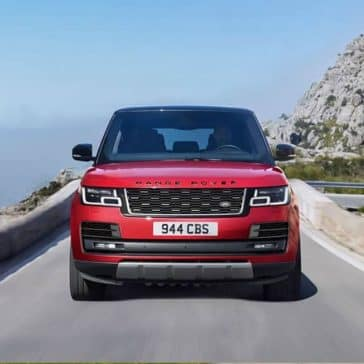 2019 Range Rover On the Road