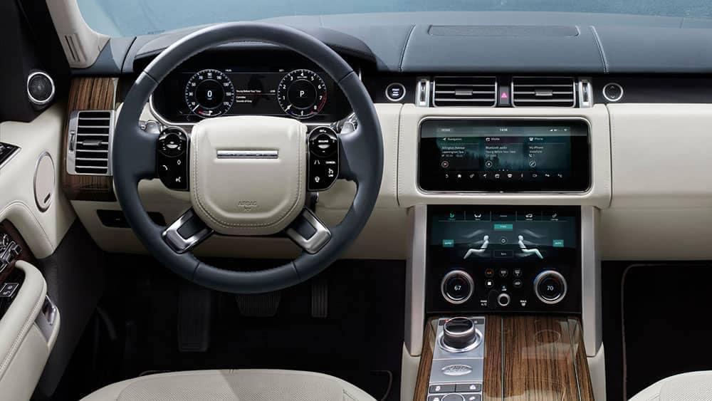 2019 Range Rover Interior Dashboard
