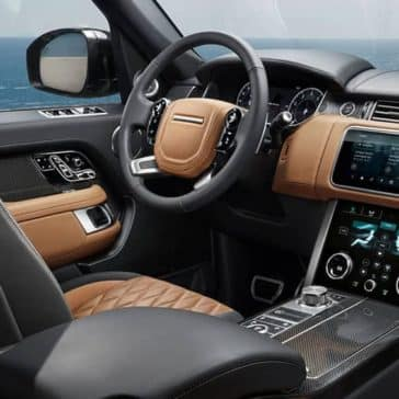 2019 Range Rover Interior With Ocean View