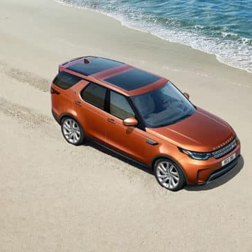 2019 land rover discovery beach