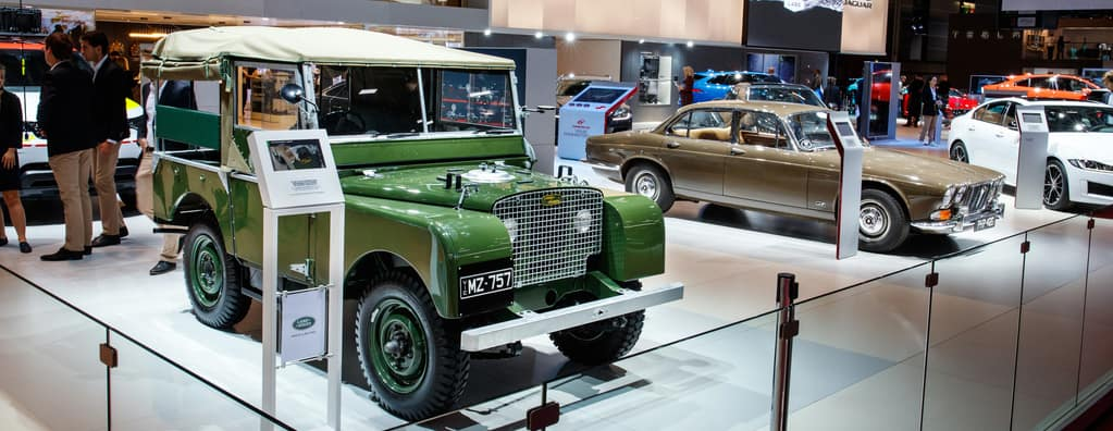 Vintage Land Rover Defender