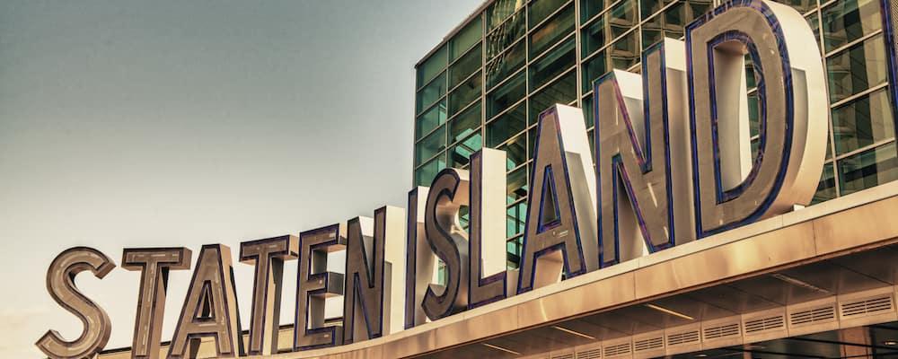 staten island ferry sign