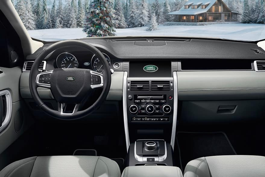 2019 Land Rover Discovery Sport Interior Technology