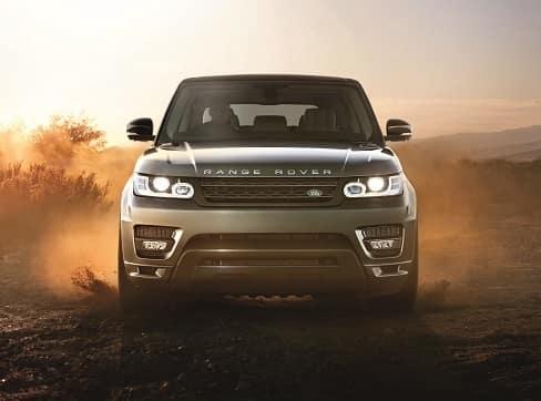Range Rover Sport Off Roading