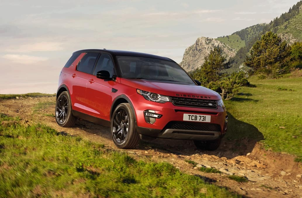 2019 Land Rover Discovery Sport Off-Roading