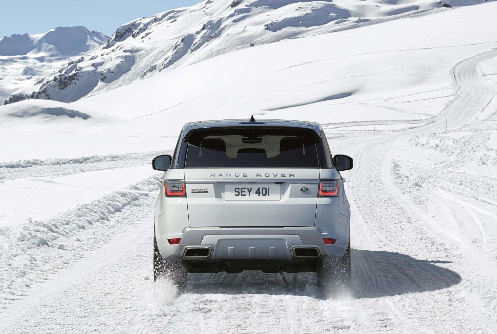 2019 Range Rover Sport Off-Roading