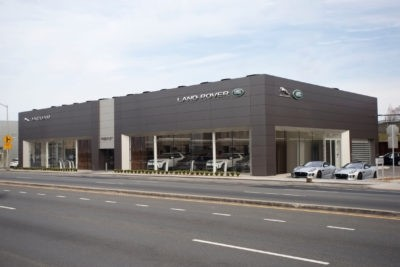 Land Rover Freeport Dealership Photo
