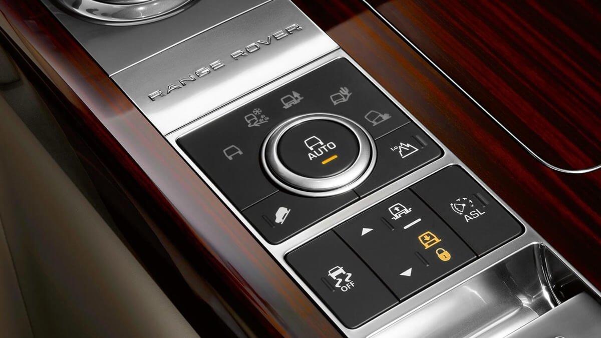 2017 Land Rover Range Rover Interior Features