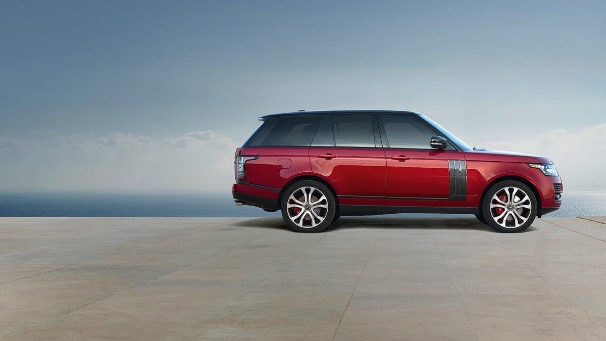 2017 Land Rover Range Rover Red Exterior