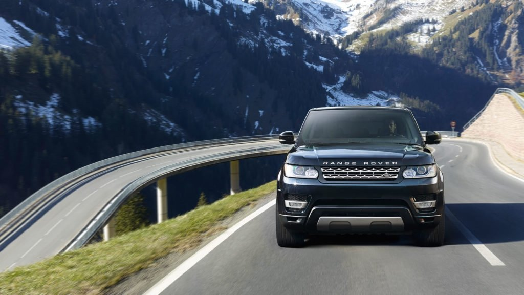 2017 Land Rover Range Rover Sport front