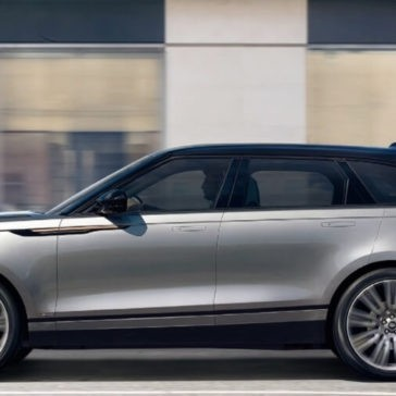 2018 Range Rover Velar Side View