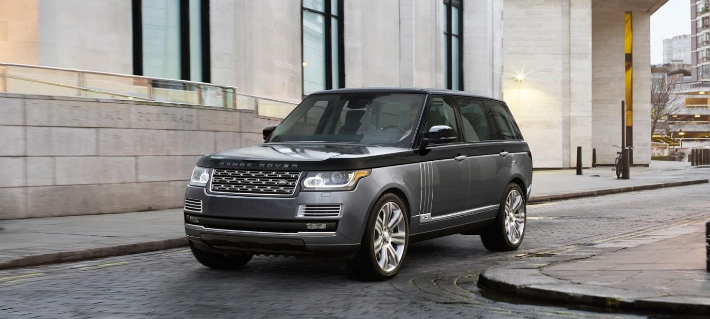 Land Rover Range Rover banner
