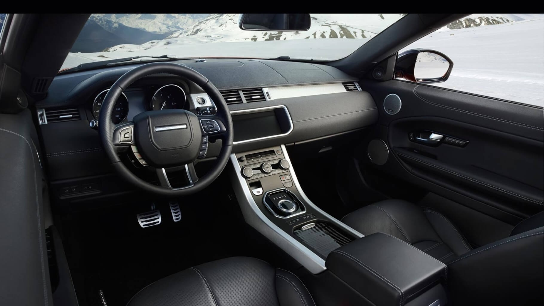 2017 Land Rover Range Rover Evoque Convertible Interior Technology Features