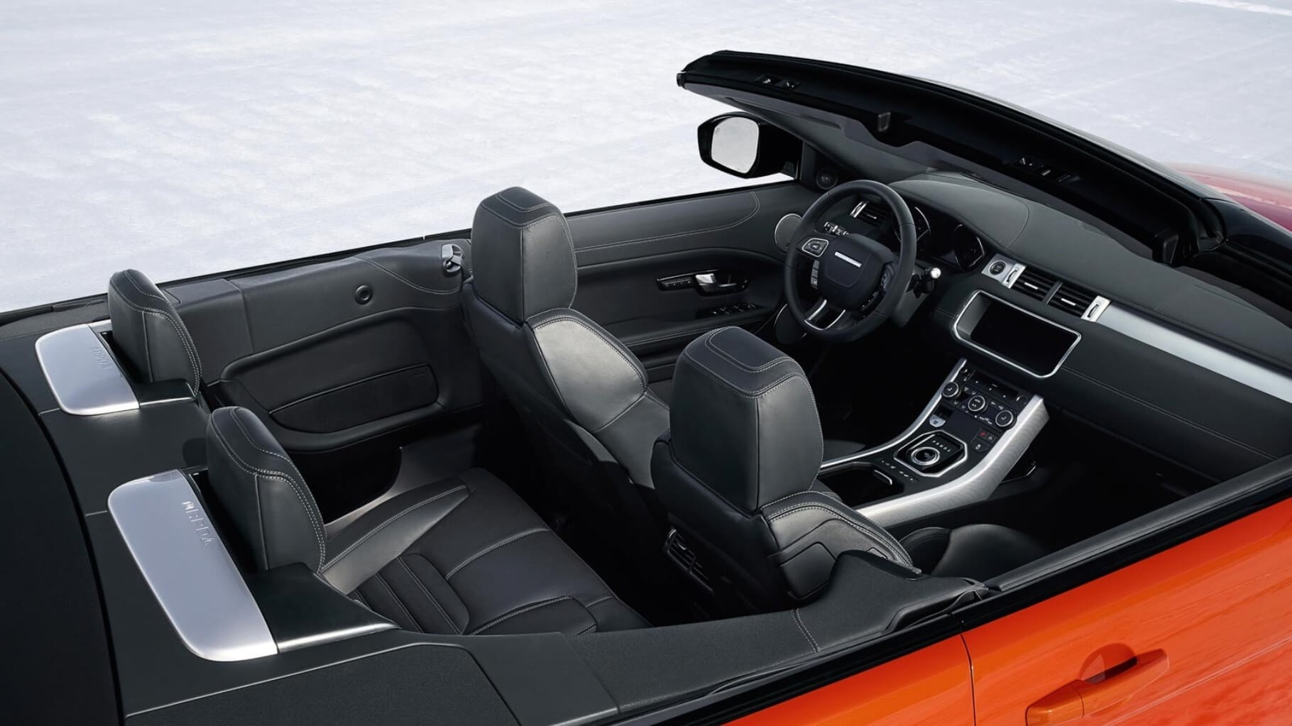 2017 Land Rover Range Rover Evoque Convertible Interior View