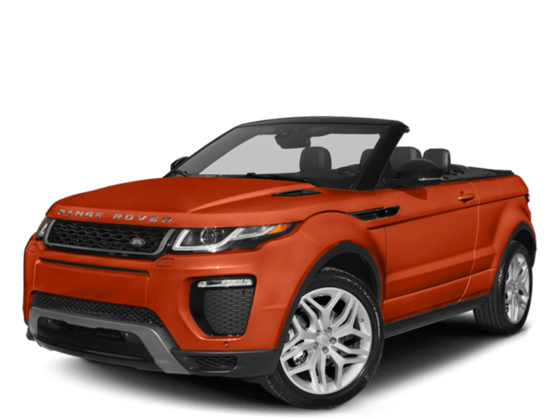 2017 Land Rover Range Rover Evoque Convertible SE Dynamic Hero