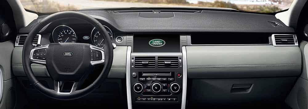 Land Rover Discovery Sport Interior Technology