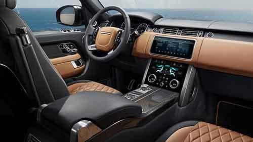 Land Rover Range Interior