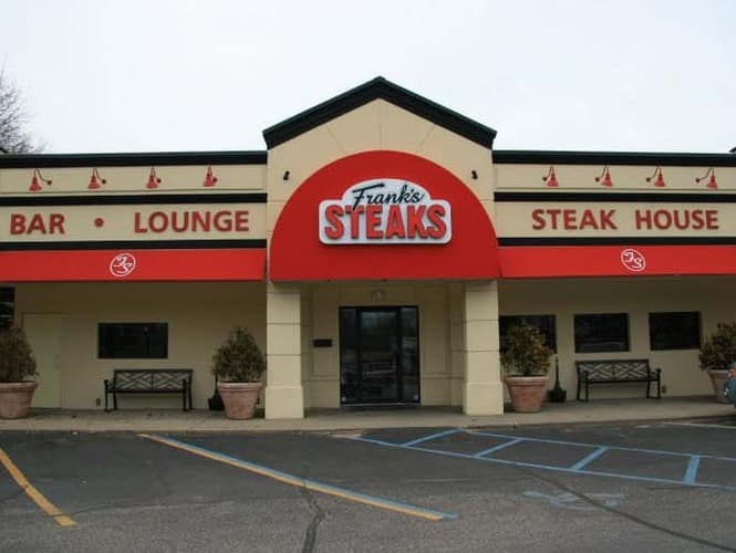 Franks Steak Front Door