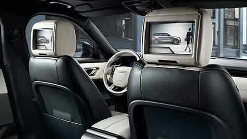 2018 Land Rover Range Rover Velar Rear Entertainment System
