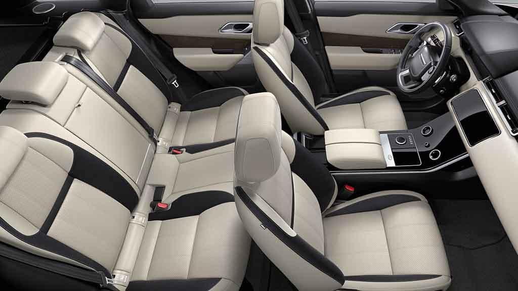 2018 Land Rover Range Rover Velar Seating