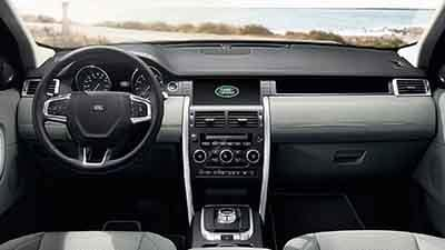 2018 Land Rover Discovery Sport Front Interior Dashboard Features