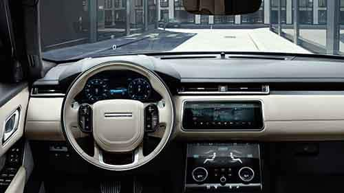 2018 Land Rover Range Rover Velar Interior Dashboard Features