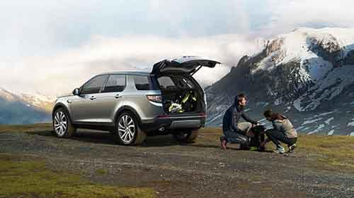 2018 Land Rover Discovery Sport Cargo Space