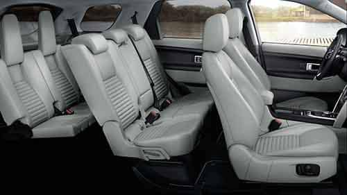2018 Land Rover Discovery Sport Interior Passenger Space
