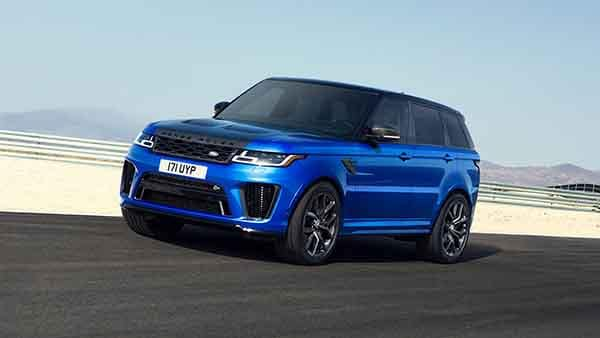 2018 Land Rover Range Rover Sport Driving