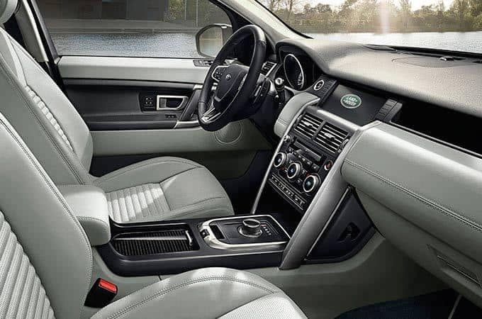 2018 Land Rover Discovery Sport Leather Interior