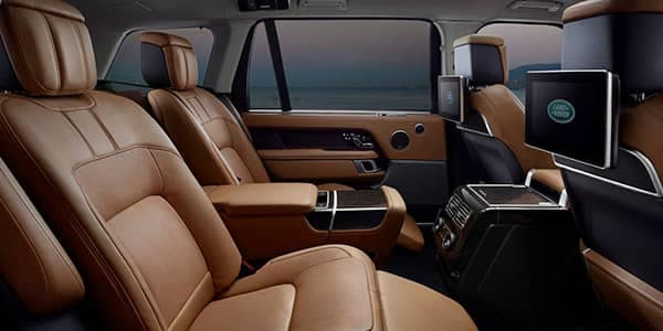 2018 Land Rover Range Rover Interior Rear Seating