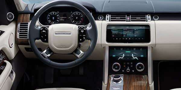 2018 Land Rover Range Rover Front Interior Technology Features