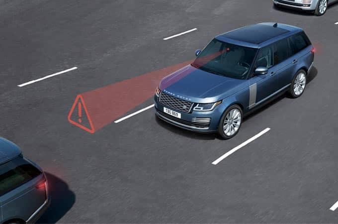 Land Rover Range Rover Autonomous Braking