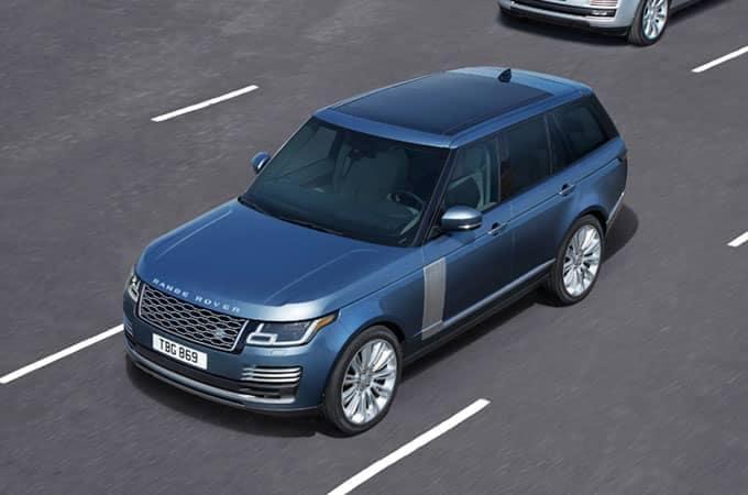 Land Rover Range Rover Emergency Brake Assist