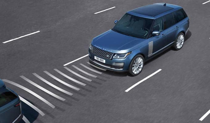 2018 Land Rover Range Rover Driving Aids