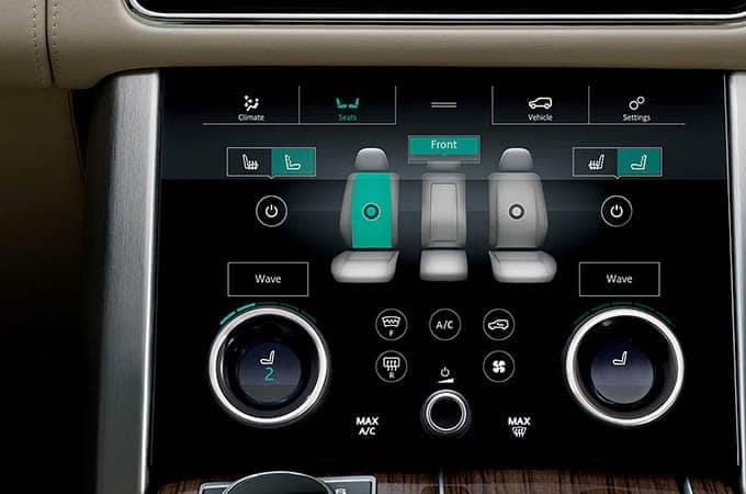 2018 Land Rover Range Rover Massage Seats