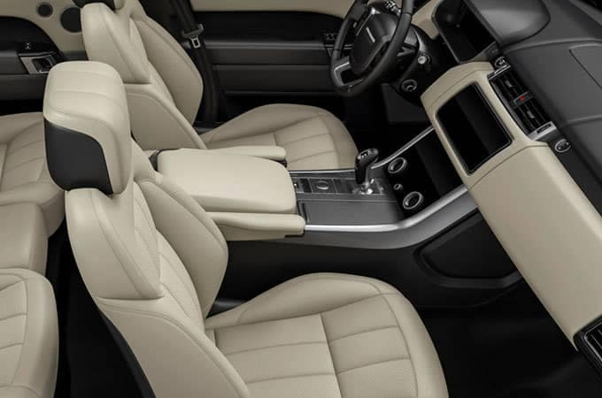 2018 Land Rover Range Rover Sport Interior Seating