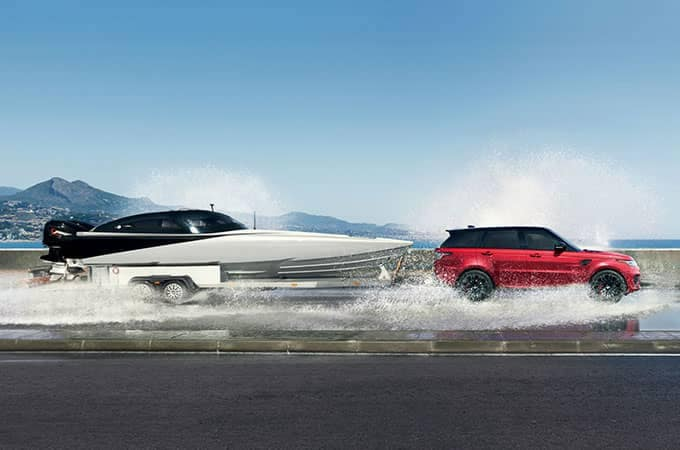 2018 Land Rover Range Rover Sport Towing