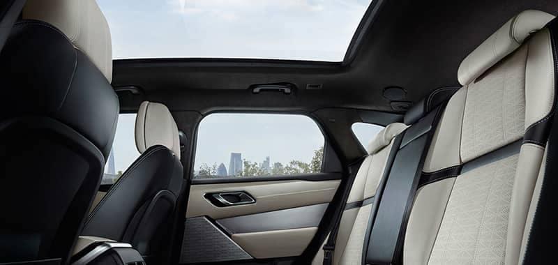 2018 Land Rover Range Rover Velar Interior Seating