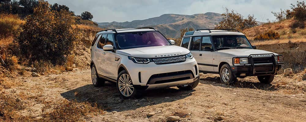 2018 Land Rover Models Off-Roading