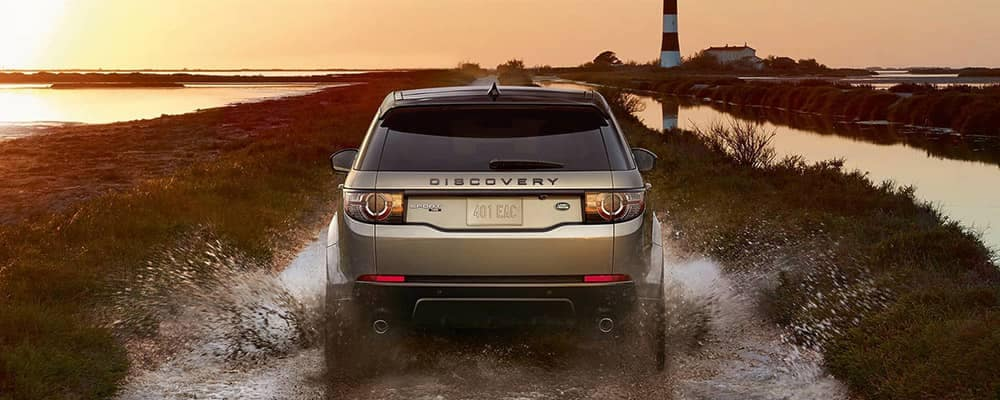 2018 Land Rover Discovery Sport Off-Roading